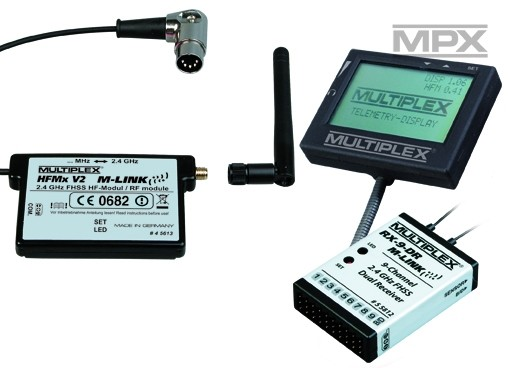 Set combo modul HFMX V2 M-LINK 2,4GHZ + Receptor + Display